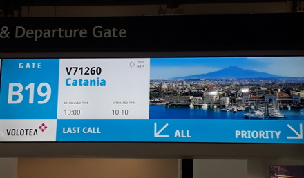 Gate Information Display System Naitec